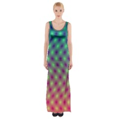 Art Patterns Maxi Thigh Split Dress