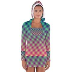 Art Patterns Women s Long Sleeve Hooded T-shirt