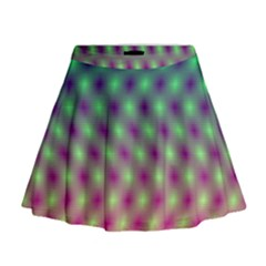 Art Patterns Mini Flare Skirt
