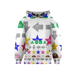 Cute Symbol Kids  Pullover Hoodie