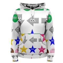 Cute Symbol Women s Pullover Hoodie