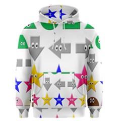 Cute Symbol Men s Pullover Hoodie
