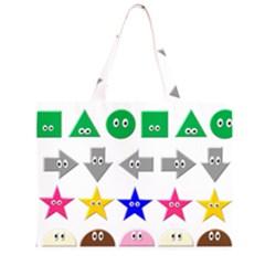 Cute Symbol Large Tote Bag