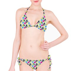 Cool Graffiti Patterns  Bikini Set
