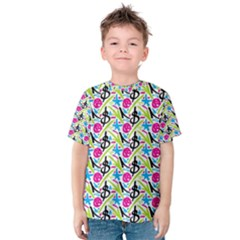 Cool Graffiti Patterns  Kids  Cotton Tee