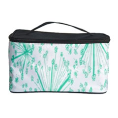 Pattern Floralgreen Cosmetic Storage Case