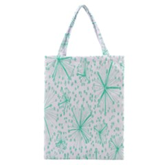 Pattern Floralgreen Classic Tote Bag