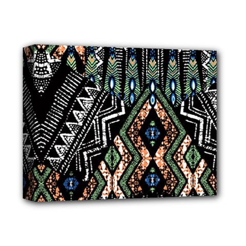 Ethnic Art Pattern Deluxe Canvas 14  x 11