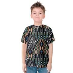 Ethnic Art Pattern Kids  Cotton Tee