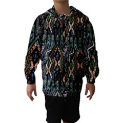 Ethnic Art Pattern Hooded Wind Breaker (kids)