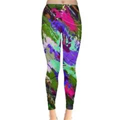 Tropical Jungle Print And Color Trends Leggings