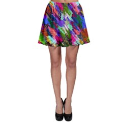 Tropical Jungle Print And Color Trends Skater Skirt