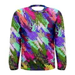 Tropical Jungle Print And Color Trends Men s Long Sleeve Tee