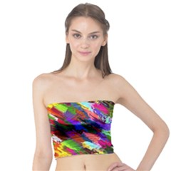 Tropical Jungle Print And Color Trends Tube Top
