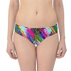 Tropical Jungle Print And Color Trends Hipster Bikini Bottoms