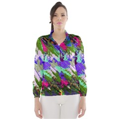 Tropical Jungle Print And Color Trends Wind Breaker (Women)