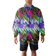 Tropical Jungle Print And Color Trends Wind Breaker (kids)