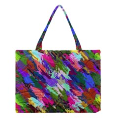Tropical Jungle Print And Color Trends Medium Tote Bag