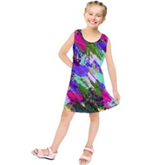 Tropical Jungle Print And Color Trends Kids  Tunic Dress