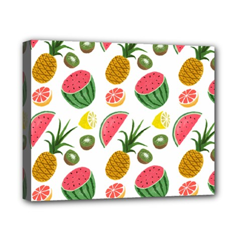 Fruits Pattern Canvas 10  X 8