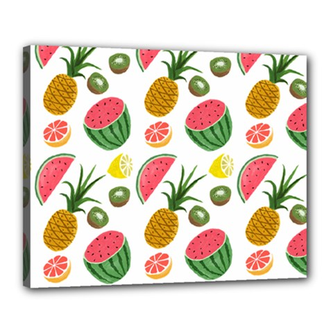 Fruits Pattern Canvas 20  x 16