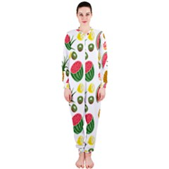 Fruits Pattern OnePiece Jumpsuit (Ladies)