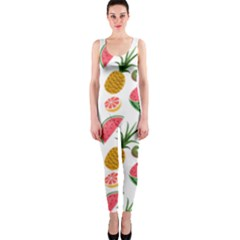 Fruits Pattern Onepiece Catsuit