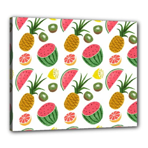Fruits Pattern Canvas 24  X 20