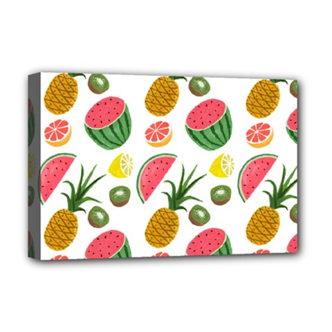 Fruits Pattern Deluxe Canvas 18  X 12