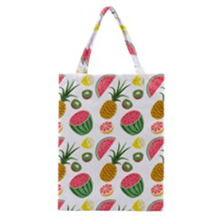 Fruits Pattern Classic Tote Bag