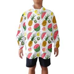 Fruits Pattern Wind Breaker (Kids)