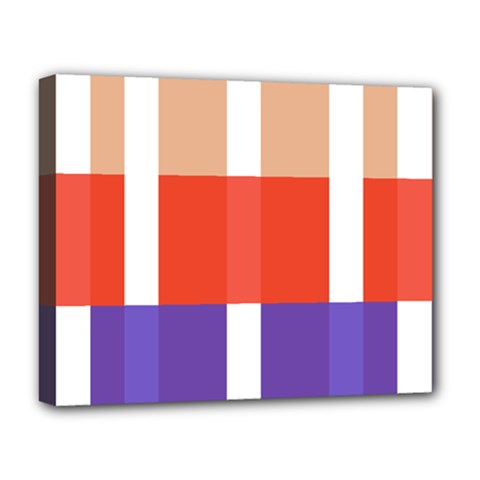 Compound Grid Deluxe Canvas 20  x 16