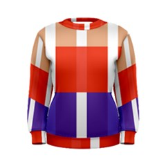 Compound Grid Women s Sweatshirt