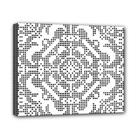 Mosaic Pattern Cyberscooty Museum Pattern Canvas 10  x 8