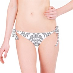 Mosaic Pattern Cyberscooty Museum Pattern Bikini Bottom