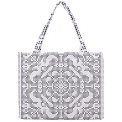 Mosaic Pattern Cyberscooty Museum Pattern Mini Tote Bag