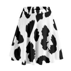 Leopard Skin High Waist Skirt