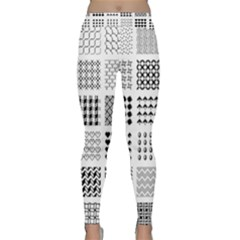 Retro Patterns Classic Yoga Leggings
