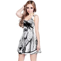 Framed Horse Reversible Sleeveless Dress