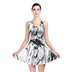 Framed Horse Reversible Skater Dress