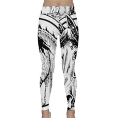 Framed Horse Classic Yoga Leggings