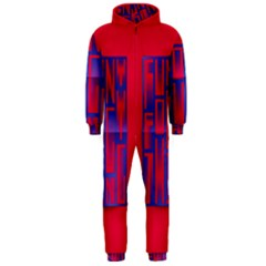 Funny Foggy Thing Hooded Jumpsuit (men)