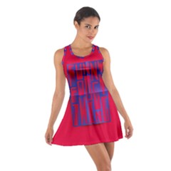 Funny Foggy Thing Cotton Racerback Dress