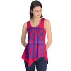 Funny Foggy Thing Sleeveless Tunic