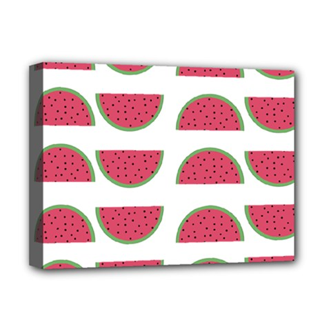 Watermelon Pattern Deluxe Canvas 16  X 12