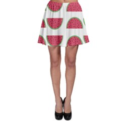 Watermelon Pattern Skater Skirt