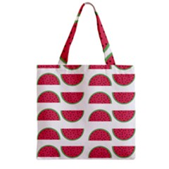 Watermelon Pattern Grocery Tote Bag