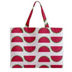 Watermelon Pattern Zipper Mini Tote Bag