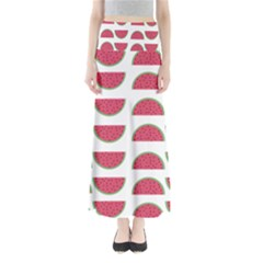 Watermelon Pattern Maxi Skirts