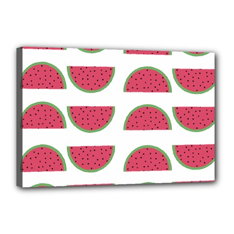 Watermelon Pattern Canvas 18  X 12